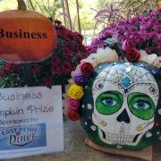 Fall Fest & Craft Fair Fundraiser Pumpkin Painting Business Division Winner - Khineder Creations 2017