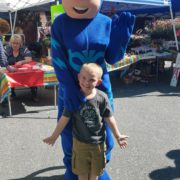 Fall Fest & Craft Fair Fundraiser Catboy and Joshua Fetterman 2017