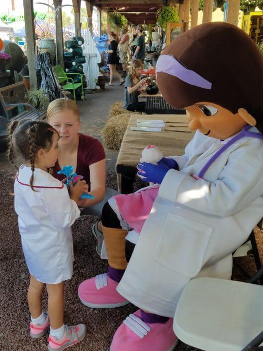 Fall Fest & Craft Fair Fundraiser Doc McStuffins and Guest 2017