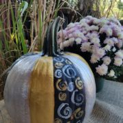 Fall Fest & Craft Fair Fundraiser Pumpkin Painting Contestant - Nicole Evans 2017