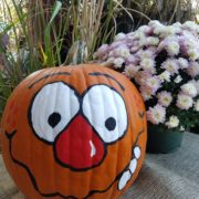 Fall Fest & Craft Fair Fundraiser Pumpkin Painting Contestant - Daryon Hotels International 2017