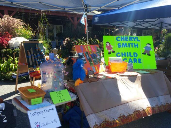 Fall Fest & Craft Fair Fundraiser Vendor - Cheryl Smith Child Care 2017