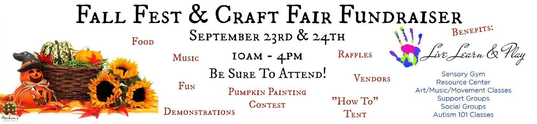 Herbein's Fall Fest & Craft Fair Fundraiser Weekend Live Learn & Play September Events Lehigh Valley Emmaus Pa