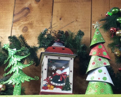 Herbeins Christmas Mantle