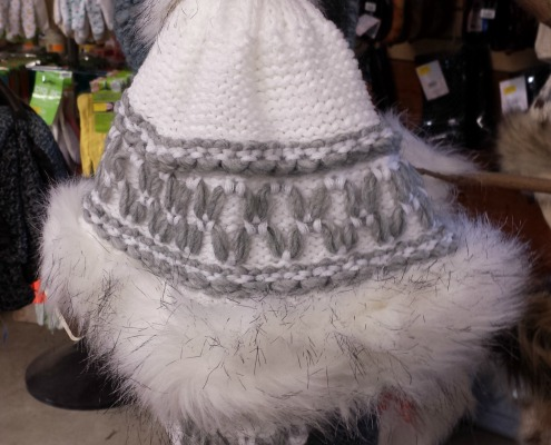 Herbeins White Winter Starling Hat