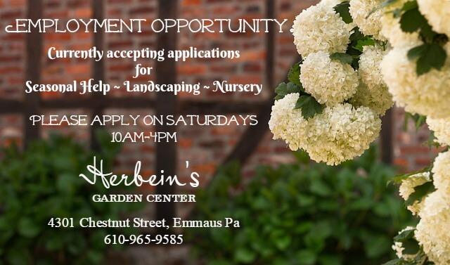 2018 Employment Herbein's