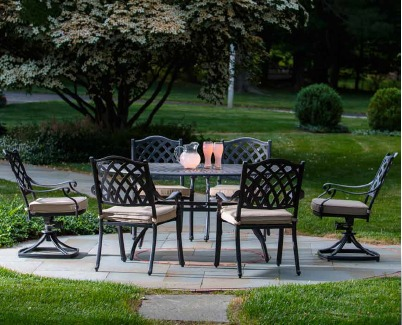 Alfresco Patio Set Outdoor Living Herbeins Garden Center Emmaus PA