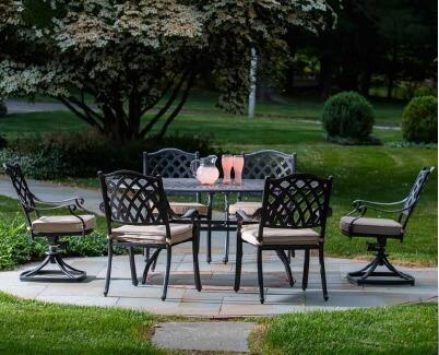 Alfresco Patio Set Outdoor Living Herbeins Garden Center Emmaus Pa