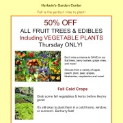 Flash Sale fruit Herbeins Garden Emmaus Pa