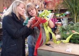 Herbeins & Lower Macungie Garden Club Bow Making