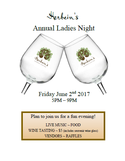Ladies Night 2017 Event Herbeins Garden Center Emmaus PA