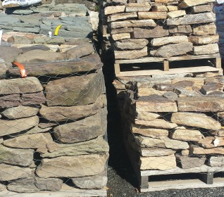 Landscaping Stone Rock Flat Wall Natural Grey Mountain Herbeins Garden Center Emmaus Pa