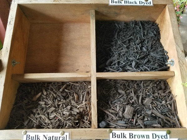 Bulk Mulch Natural Brown Black Triple Ground Herbeins Garden Center Emmaus Pa