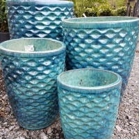 Blue Plants Pottery Herbeins Garden Center Emmaus PA