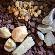 Bagged Stone Marble Chips Pea Gravel Maryland Autumn Red Pocono River Rock Herbeins Garden Center Emmaus Pa
