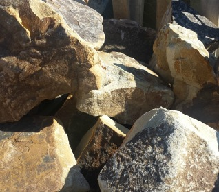 Landscaping Stone Rock Large Natural Gray White Herbeins Garden Center Emmaus Pa