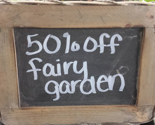 Herbein's Garden Fairy Garden Sale