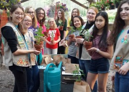 Lehigh Valley Girl Scouts Herbeins Tour