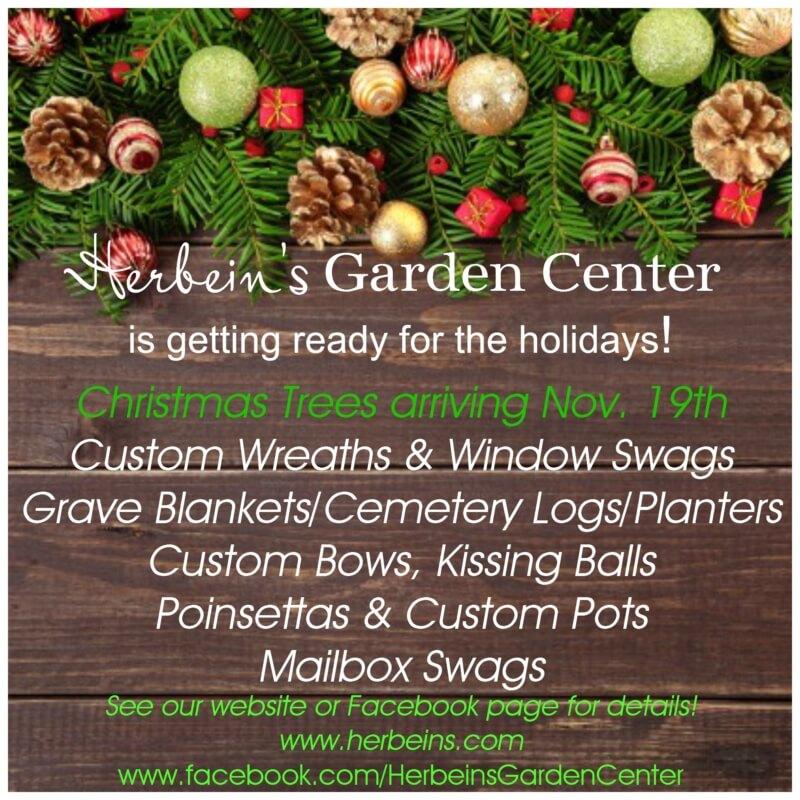 Holidays at Herbein's Garden Center Emmaus Pa