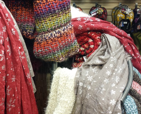Holiday Gift Ideas Scarves Herbeins Garden