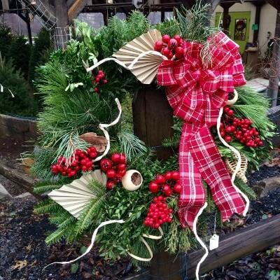 Wreath Fresh Herbeins Holiday Lehigih Valley Emmaus Pa