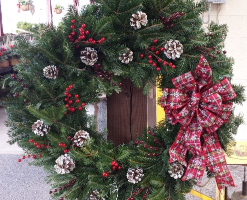 Wreath Fresh Red Herbeins