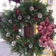 Wreath Fresh Red Herbeins