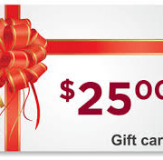 25.00 Herbeins Garden Center gift card