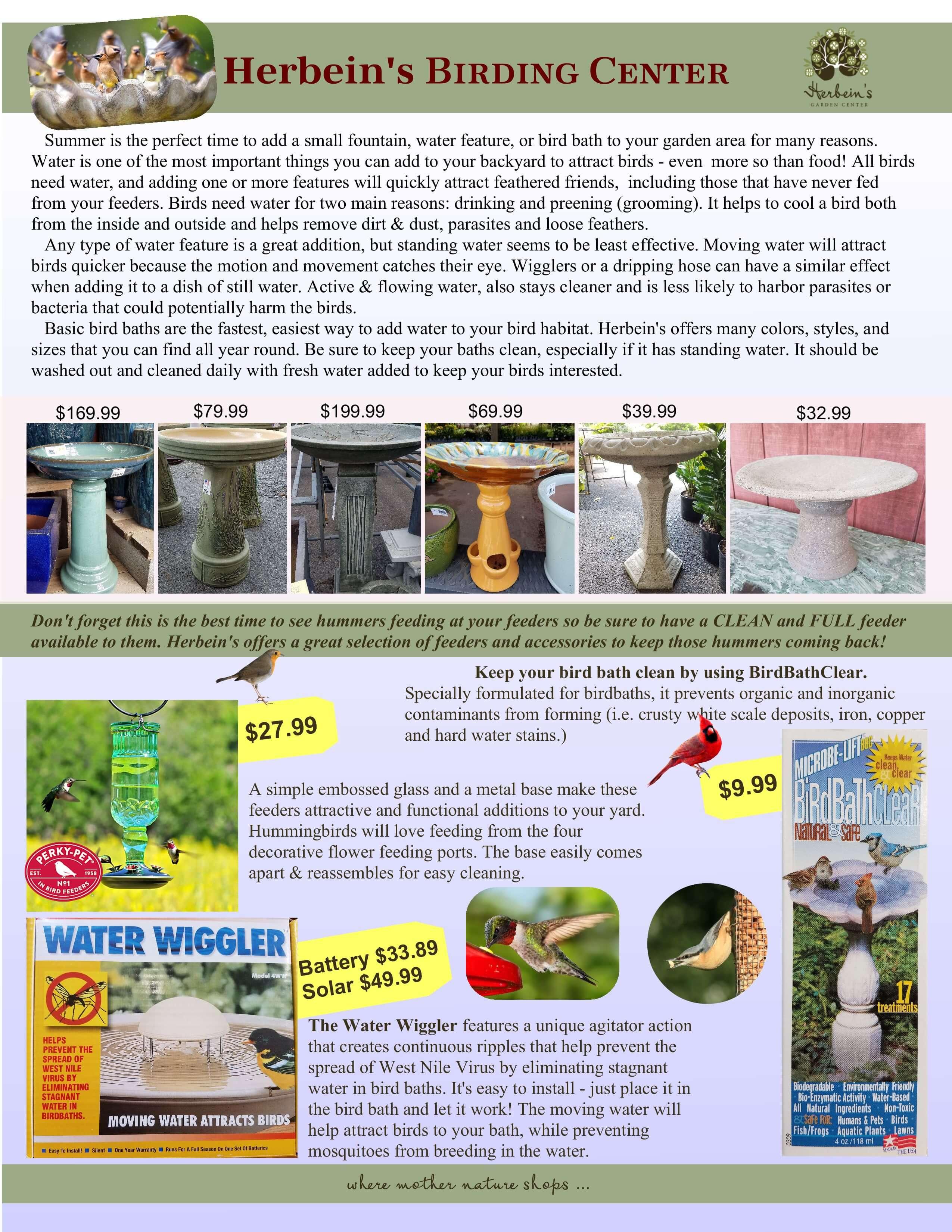 2017 Summer Newsletter Herbeins Garden Center Emmaus Pa