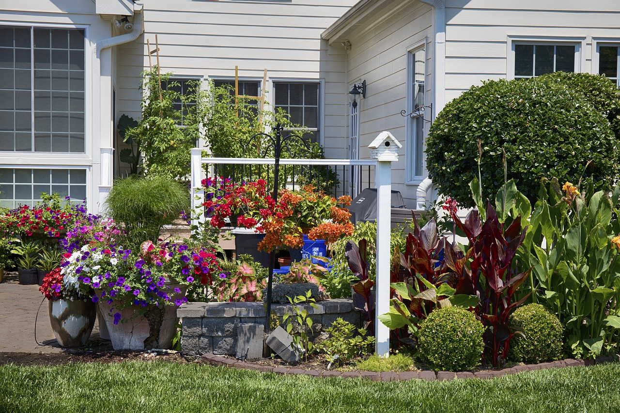 Landscapt to add value to your home trees shrubs plants flowers Herbeins Garden Center Emmaus Pa