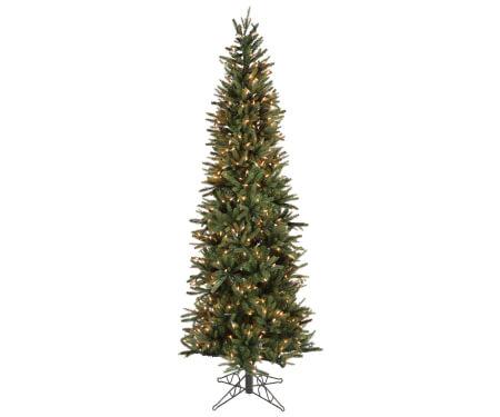 Slim Oregon Pine Artificial Christmas Tree