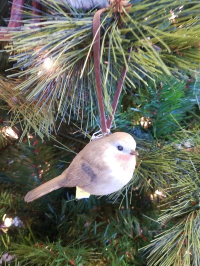 Christmas Bird Ornament