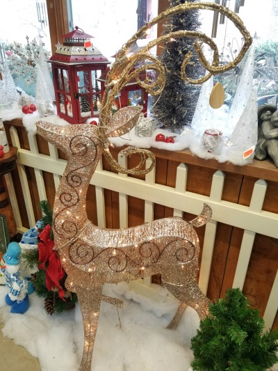 Christmas Gold Reindeer