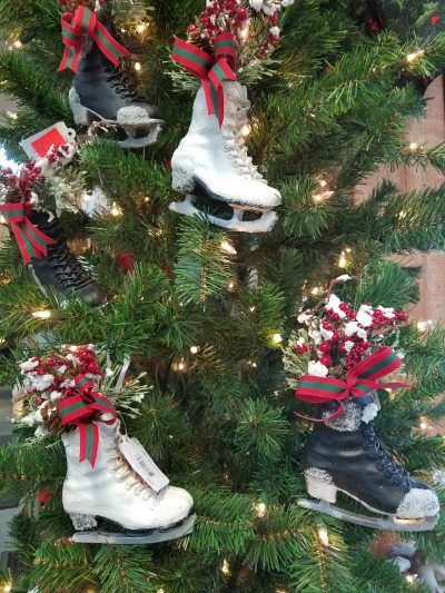 Christmas Ice Skate Ornaments