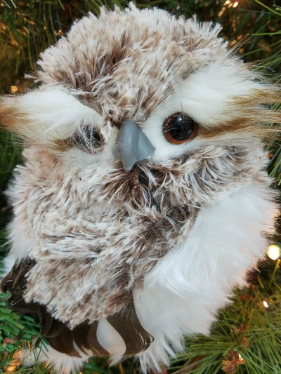 Christmas Large Owl Ornament