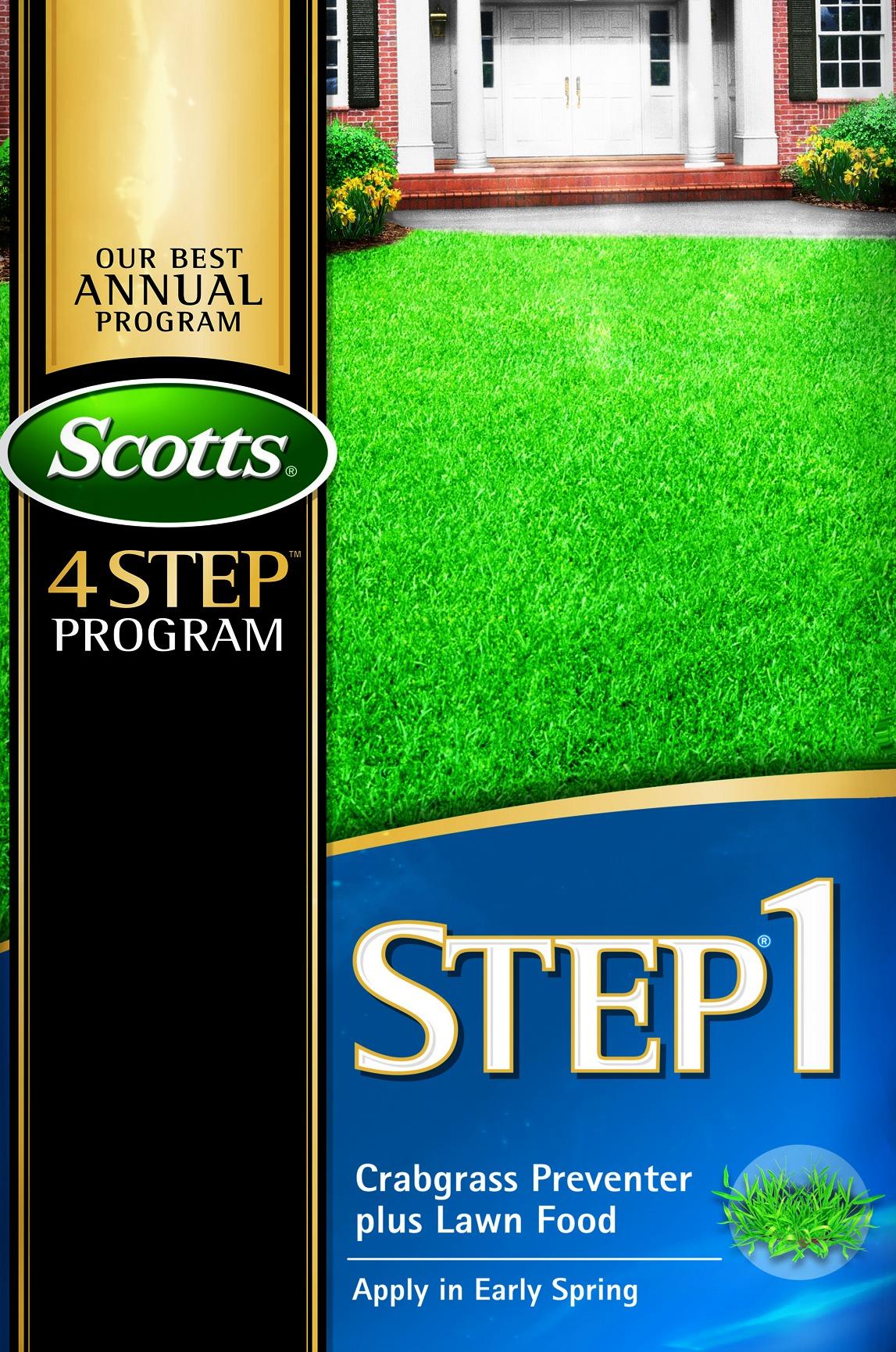 Scotts Step 1
