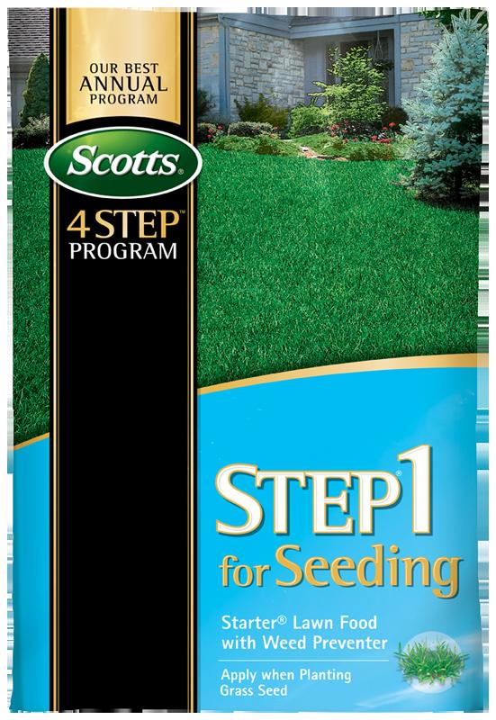 Scotts Step 1 Seeding