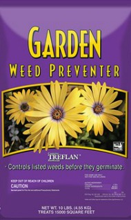 Garden Weed Preventer with Treflan Herbeins