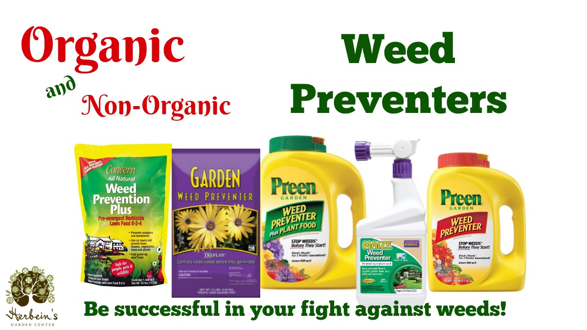 Weed Preventers Preen Lebanon Treflan BonideMaize Herbeins