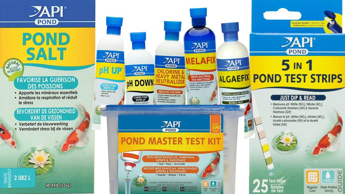 API pond products Herbeins Garden Center