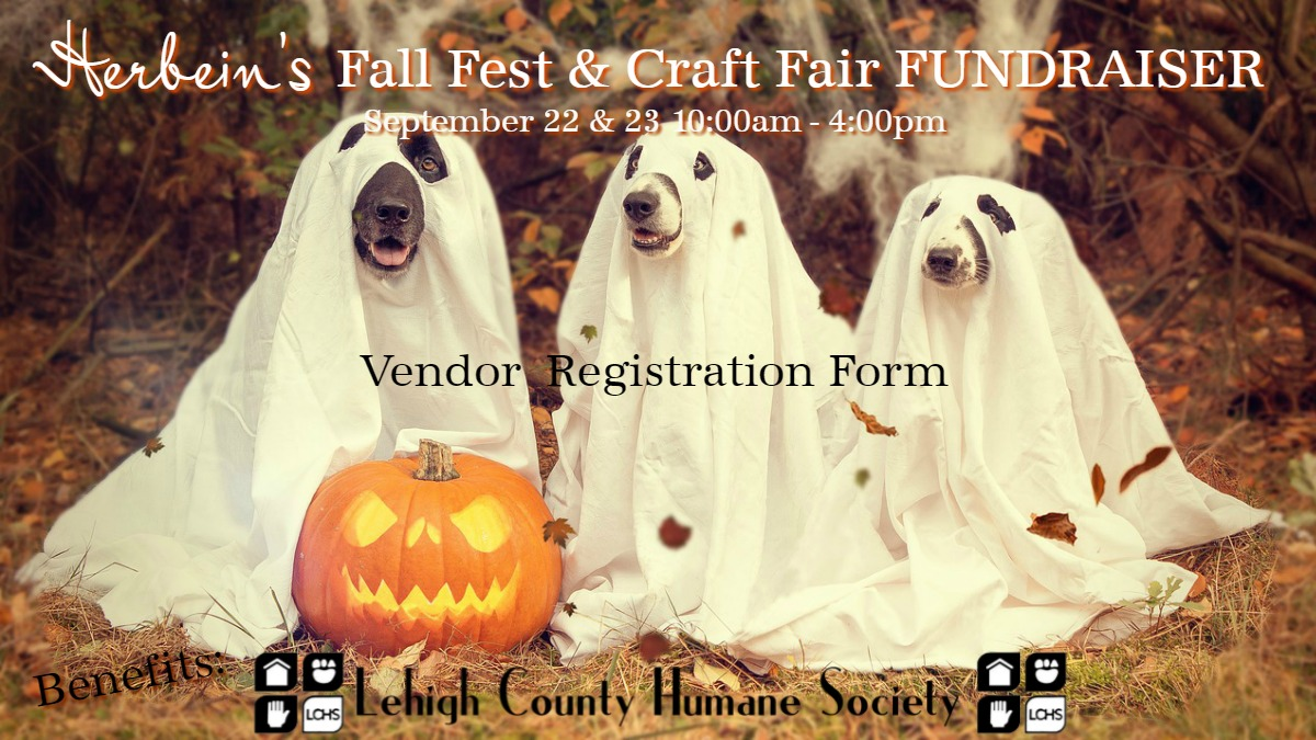 Herbeins Garden Center Fall Fest 2018 VENDOR REGISTRATION FORM