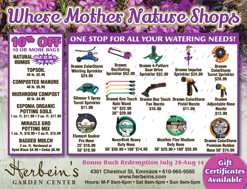 Ad for week of 7.24.2018 Herbeins Garden Center