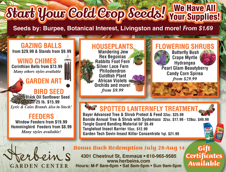 Ad for week of 7.24.2018 Herbeins Garden Center