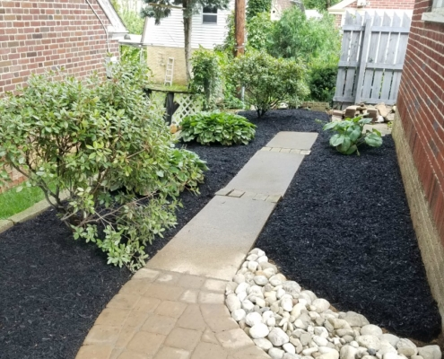 Herbeins Garden Center Landscape Job 2018