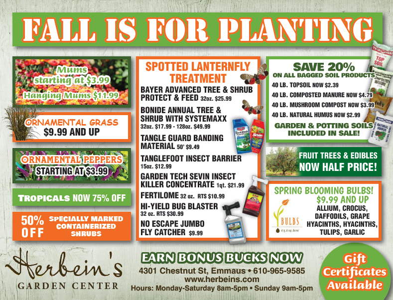 Herbeins Garden Center Ad fr 9/18-9/24/2018