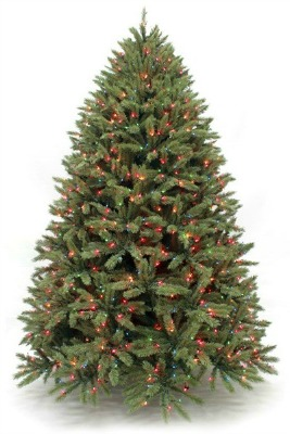 Herbeins Garden Center Pre-lit Deluxe Fraser Fir
