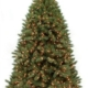 Herbeins Garden Center Pre-lit Norwegian Spruce Artificial Tree