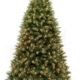 Herbeins Garden Center Winchester Slim Pre-lit Artificial Tree