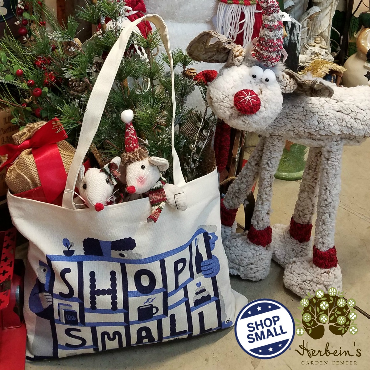 Small Business Saturday Herbeins Garden Center Christmas