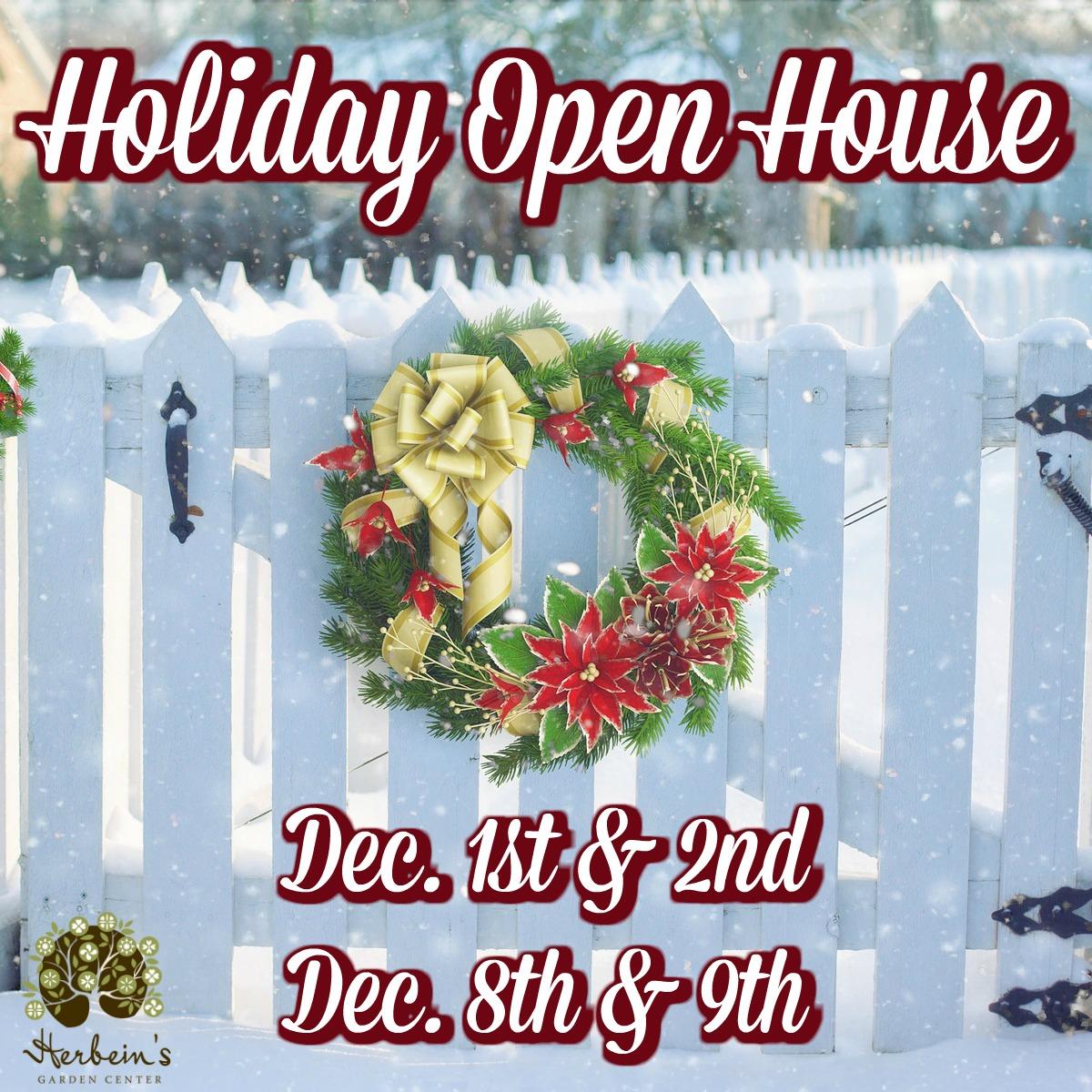 Herbeins Garden Center Christmas Open House 2018